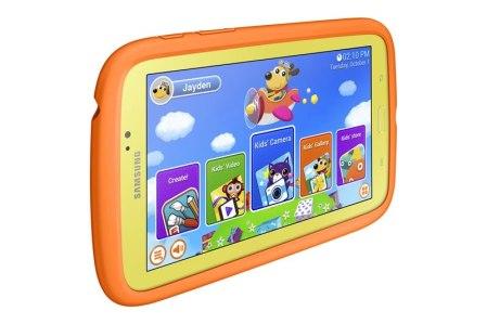 Samsung GALAXY Tab 3 Kids, la tablet de Samsung diseñada para los niños