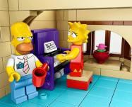 LEGO de los Simpsons presentado oficialmente por LEGO - 123