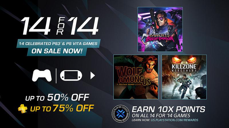 14 juegos de PS3 y 14 juegos de PS Vita a precios de regalo en PlayStation Store - 14-for-14-ps-store