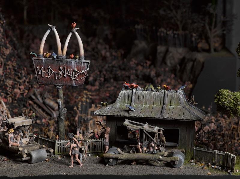 ¿Cómo sería un McDonalds en el Infierno? - Imágenes - 94