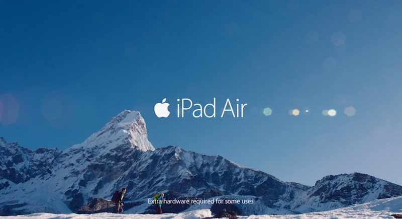 Comercial de Apple que conmocionó los Golden Globes Awards - Apple-ipad-air-golden-globe-awards
