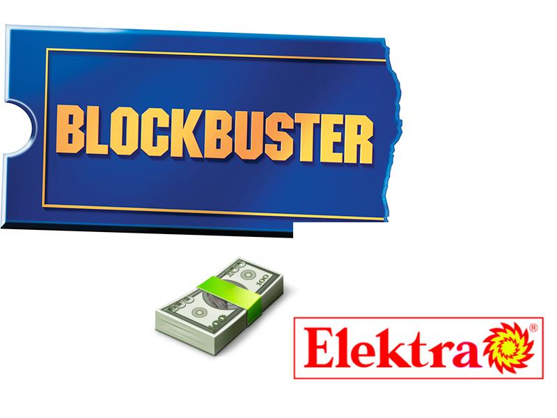 Grupo Salinas compra la cadena BlockBuster México - Elektra-compra-blockbuster