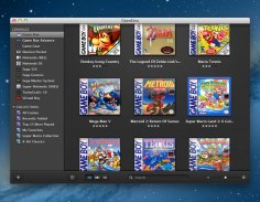 OpenEmu, emulador de Nintendo, Sega y otras plataformas para Mac - Game-Boy-Library