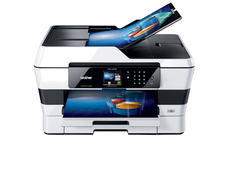 Brother presenta su nueva impresora multifuncional MFC-J6720DW capaz de conectarse a la nube - Impresora-multifuncional-MFC-6720-brother