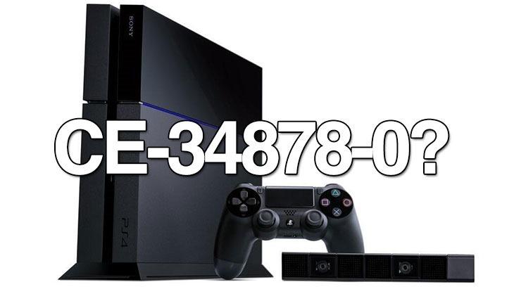 Nuevo Error CE-34878-0 de PS4 corrompe las partidas guardadas de tus juegos - PS4error