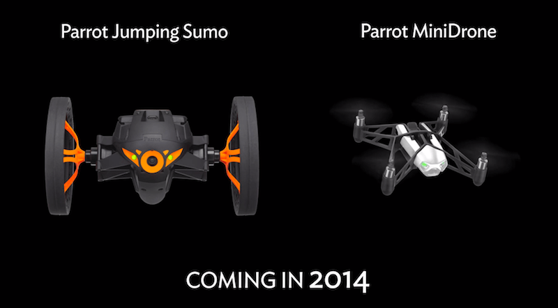 Parrot Drones Parrot presenta dos nuevos drones, uno que salta y otro de tamaño compacto