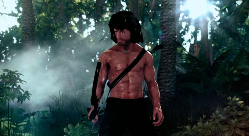 El videojuego de Rambo lanza un tráiler y deja mucho que desear - Rambo-The-Videogame