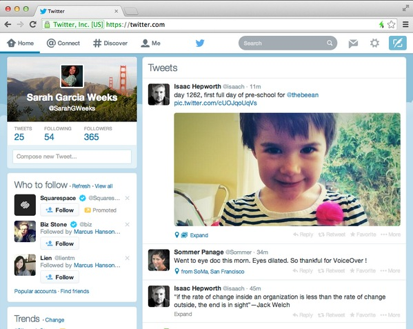 Twitter anuncia nueva interfaz para su versión web - Twitter-nueva-interfaz