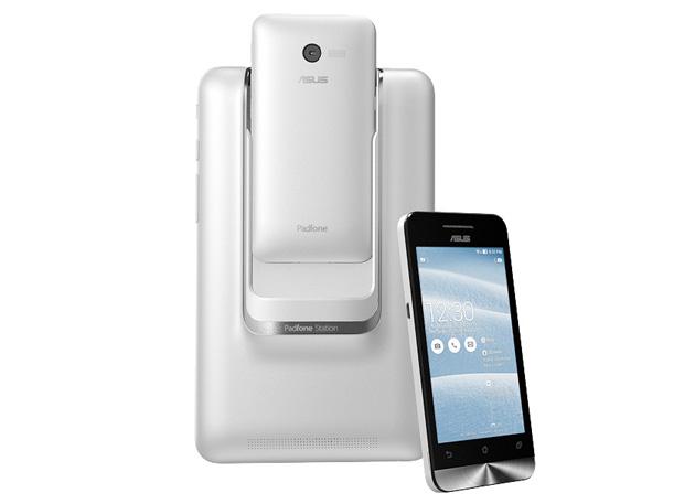 ASUS presenta nuevos smartphones ZenFone y PadFone Mini durante el CES 2014 - asus-padfone-mini-ces