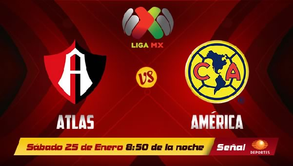 América vs Atlas en vivo, Liga MX Clausura 2014 - atlas-america-2014-en-vivo