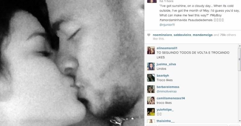 Video de Bruna Marquezine, la novia de Neymar es un nuevo troyano - bruna-marquezine-beija-neymar-1382493913477_956x500