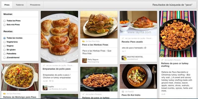 Buscar recetas de cocina en Pinterest ahora es más fácil - buscar-recetas-de-cocina