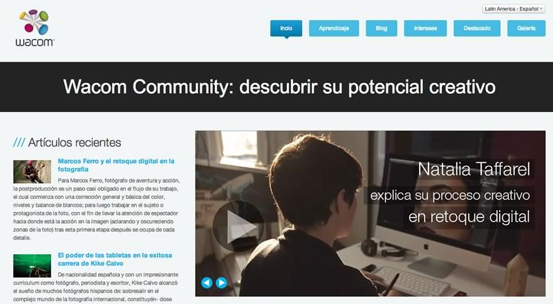 Wacom presenta su comunidad online: Wacom Community - comunidad-wacom