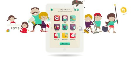 FamilyTeam, Una app de iPad para que todos ayuden en las tareas del hogar