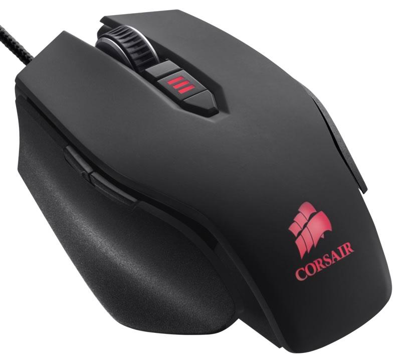 Raptor M45 y Raptor K40 el nuevo mouse y teclado gamer de Corsair - mouse-gamer-raptor-corsair