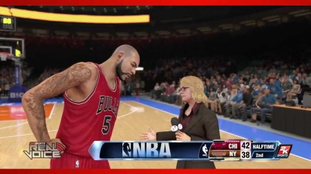 Comandos de voz para NBA 2K14 con Kinect y PlayStation Camera