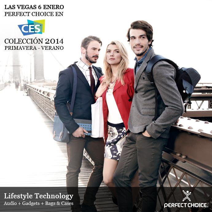 Perfect Choice lleva la moda a sus accesorios presentados en el CES 2014 - perfect-choice-ces-20143