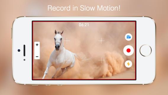 Grabar en cámara lenta en el iPhone 5 con SlowCam - screen568x568