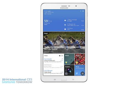 Samsung presenta sus nuevas tablets Galaxy Pro - tabpro81