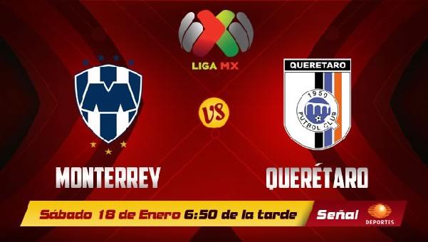 Monterrey vs Querétaro en vivo, Liga Bancomer MX Clausura 2014 - ver-monterrey-vs-queretaro-internet