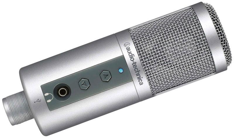 5 mejores micrófonos USB para hacer podcasts - ATR2500-USB