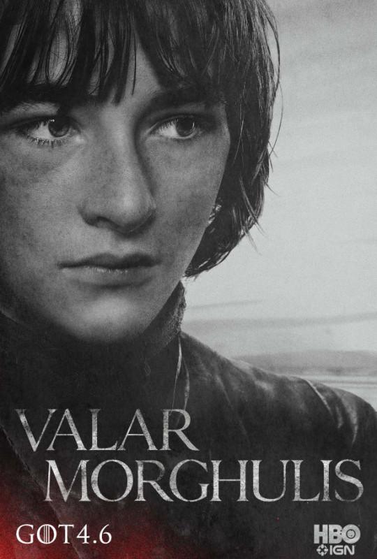 Nuevos posters y teaser tráiler de Game of Thrones y la familia Stark - Bran-610x903-540x800