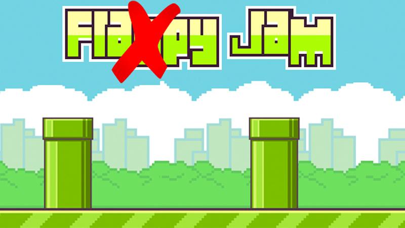 """Google y Apple rechazan aplicaciones con el nombre """"Flappy"""". - Flappy-bird-borrado"""