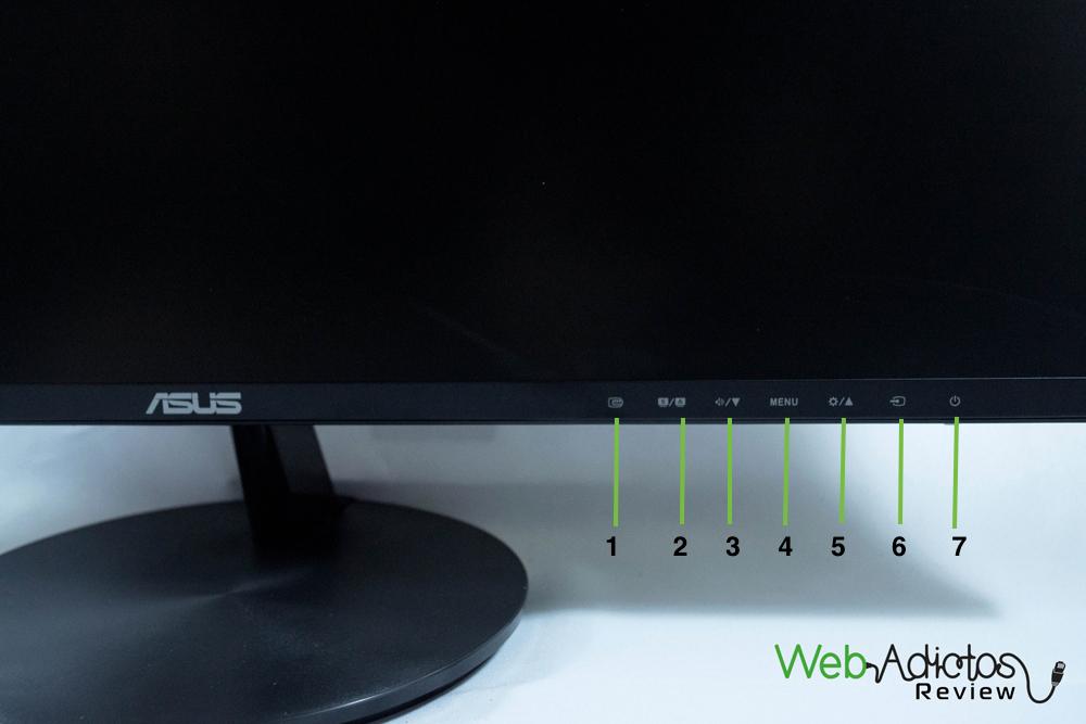 Monitor ASUS VN247H, ideal para las multipantallas [Reseña] - Monitor-ASUS-7