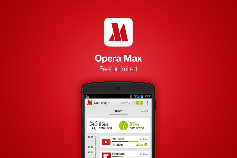 Ahorra tus datos de navegación en Android con Opera Max - Opera-Max