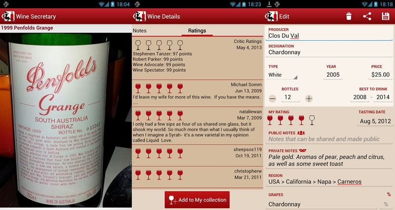 Apps Android para los amantes del Vino - apps-vinos-wine-secretary