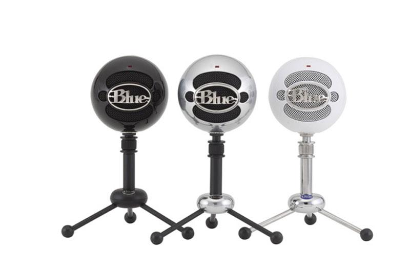 5 mejores micrófonos USB para hacer podcasts - blue-snowball