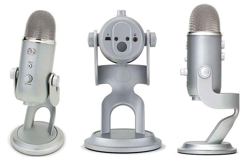 5 mejores micrófonos USB para hacer podcasts - blue-yeti