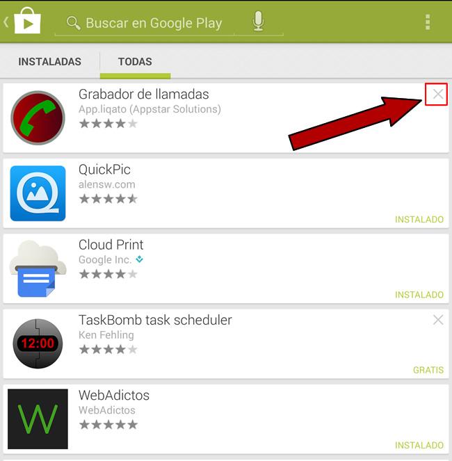 Cómo eliminar aplicaciones del historial de apps en Google Play - eliminar-aplicaciones-de-la-lista-google-play-store