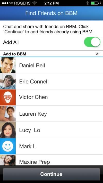 La función encuentra amigos ya está disponible en BBM para iPhone y Android - encontrar-amigos-bbm