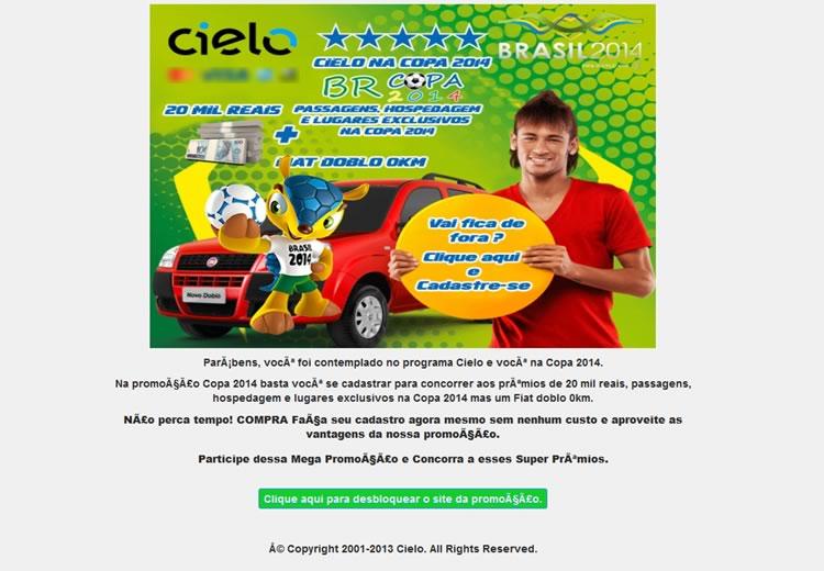 El mundial de Brasil 2014 gancho de nuevas estafas por email - estafas-email-mundial-brasil-2014