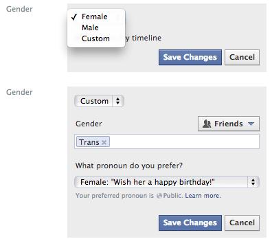Facebook ahora permite elegir un género distinto a Hombre y Mujer - facebook_custom_gender1