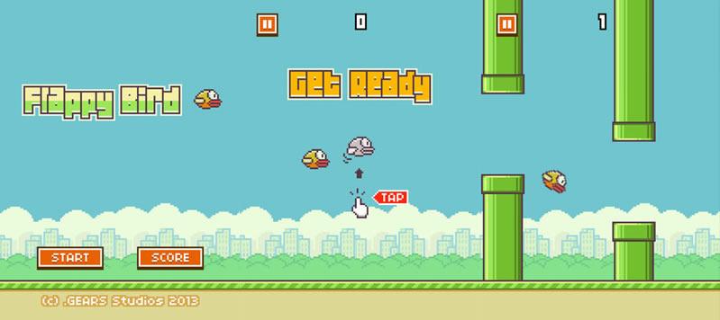 Flappy Bird, un juego para android e iOS sumamente adictivo que tienen que probar - flappy-bird-android-ios