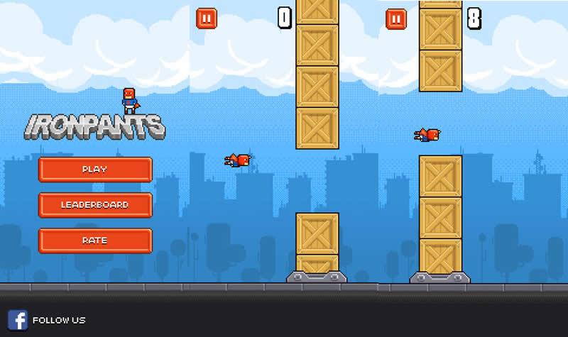 Ironpants, un clon de Flappy Bird que es mucho más complicado y deben probar - ironpants-juego-iphone-android