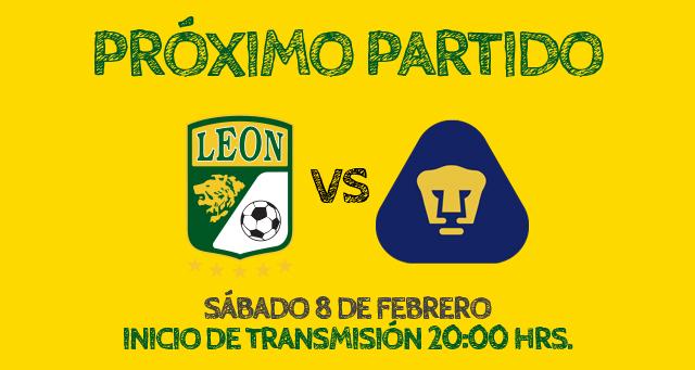 León vs Pumas en vivo, Jornada 6 Clausura 2014 - leon-vs-pumas-2014