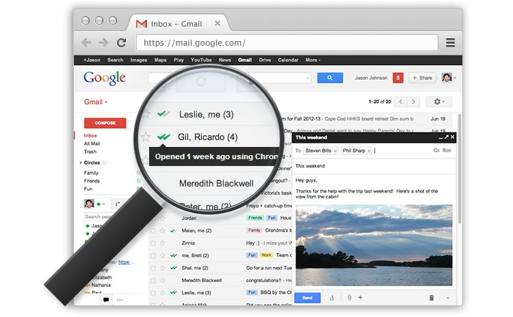 MailTrack, una extensión de Chrome que te indica cuando leen tus correos - mailtrack-chrome