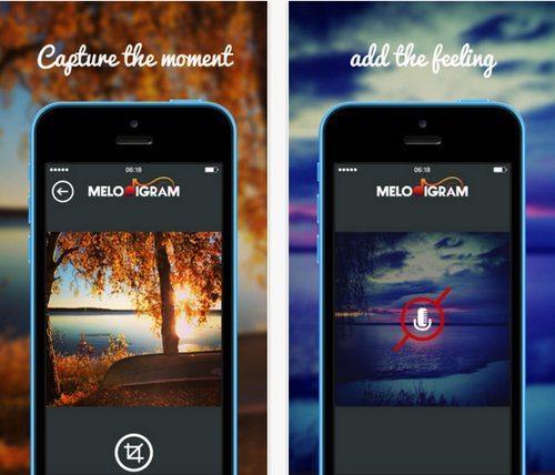 Melodigram, una divertida app para enviar imágenes con sonido - melodigram-1