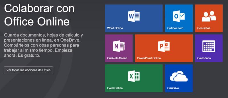 Office Online es el nuevo nombre de la paquetería office de Microsoft en la web - office-online-800x344