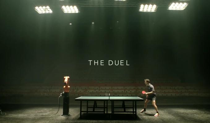 Campeón de ping pong jugará en contra de un robot [Video] - ping-pong-robot