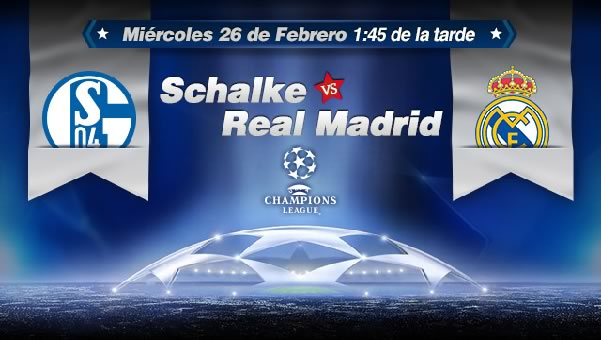 Real Madrid vs Schalke en vivo, Champions League 2014 - schalke-vs-real-madrid-champions