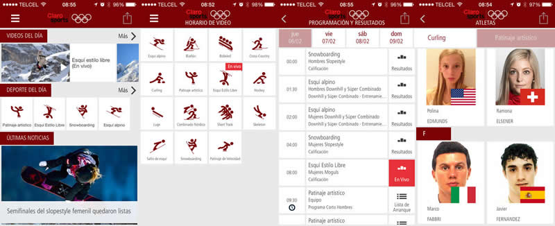 Sigue los juegos de Sochi 2014 desde tu celular - sochi-2014-en-vivo