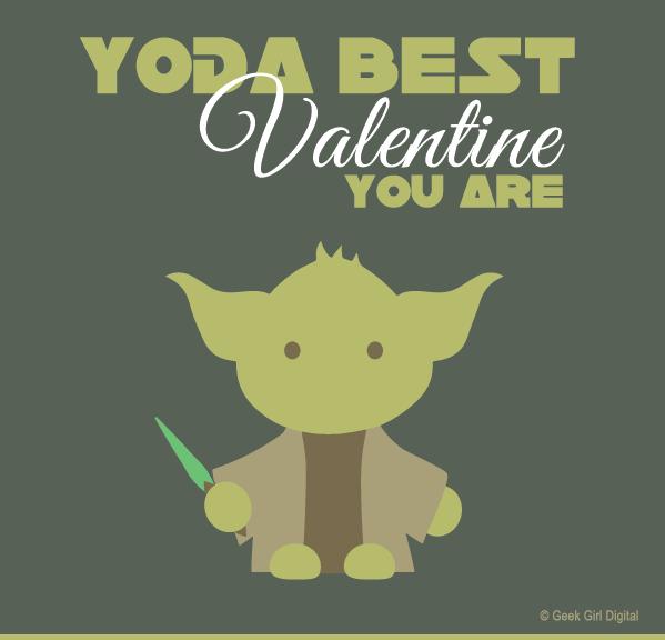 Tarjetas de San Valentín para imprimir de Star Wars - tarjetas-san-valentin-imprimir-yoda