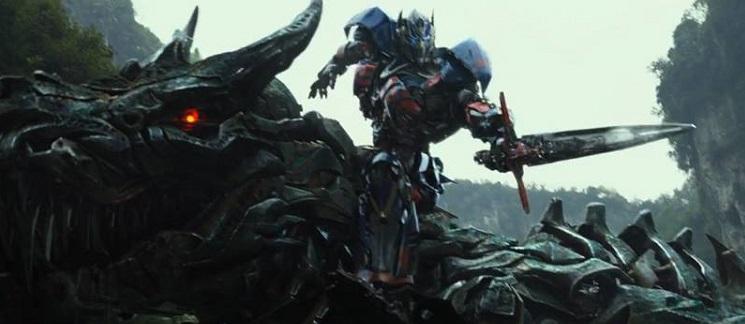 Transformers: La Era De La Extinción - Super Bowl Spot - tran