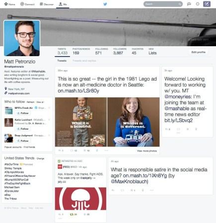 Twitter prepara un nuevo rediseño y se asemeja a Facebook