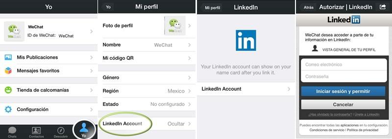 WeChat para iPhone se actualiza a la versión 5.2 con interesantes mejoras - wechat-linkedin