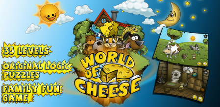 World of Cheese, divertido juego de rompecabezas para iOS y Android